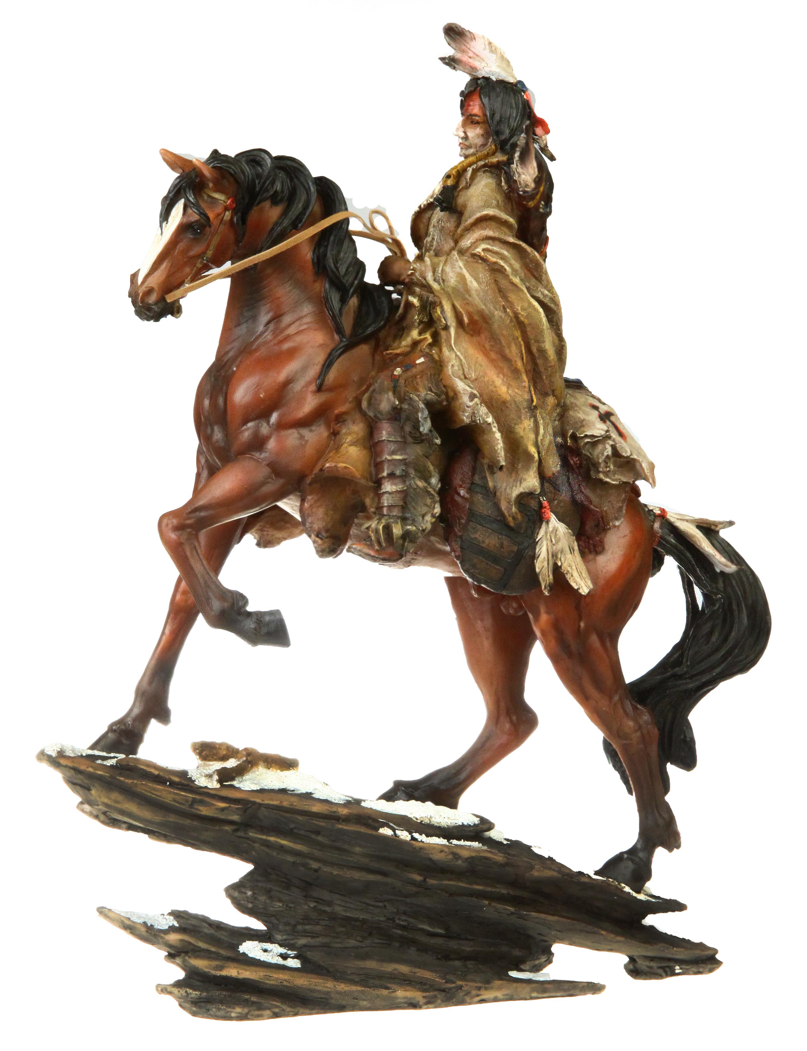 Indianer På Hest Klimagårdens Rideudstyr
